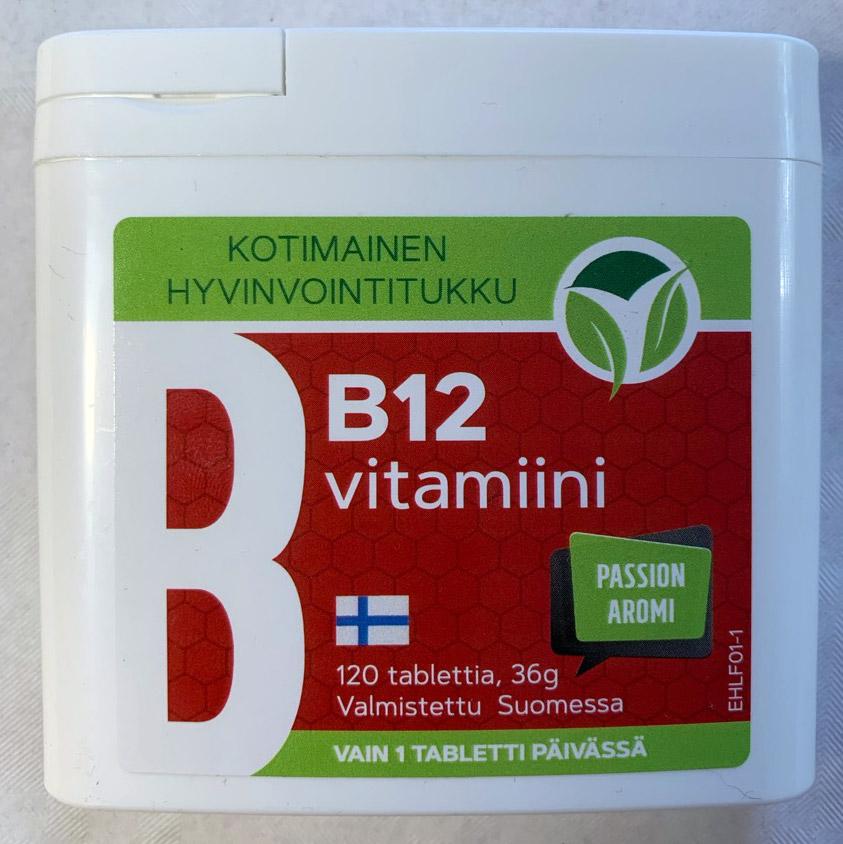 b 12 vitamiini liikasaanti